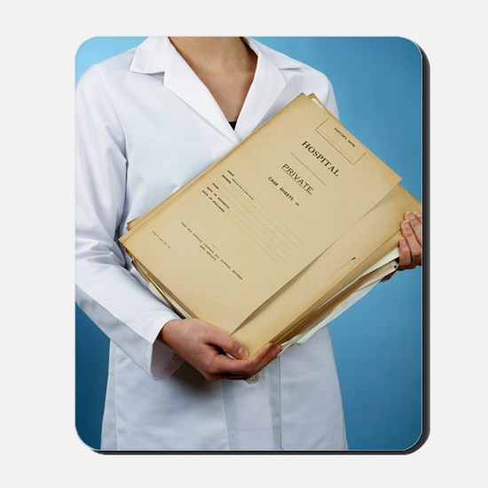 Medical records Mousepad