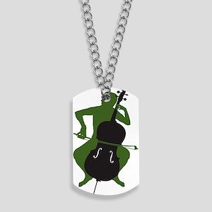 Cello-Player-16-a Dog Tags