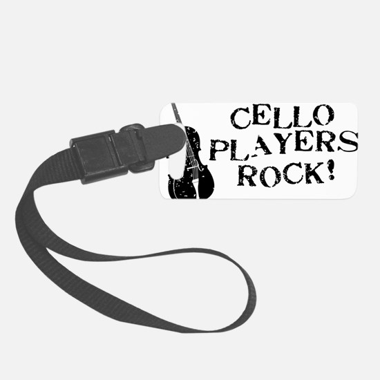 Cello-Players-Rock-01-a Luggage Tag