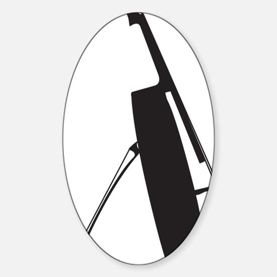 Cello-11-a Sticker (Oval)