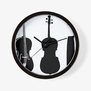 Cello-08-a Wall Clock