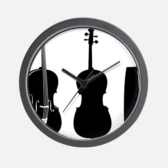 Cello-08-a Wall Clock
