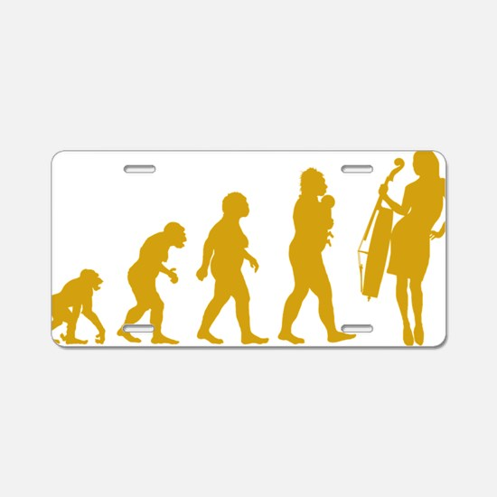 Evolution-Woman-03-c Aluminum License Plate