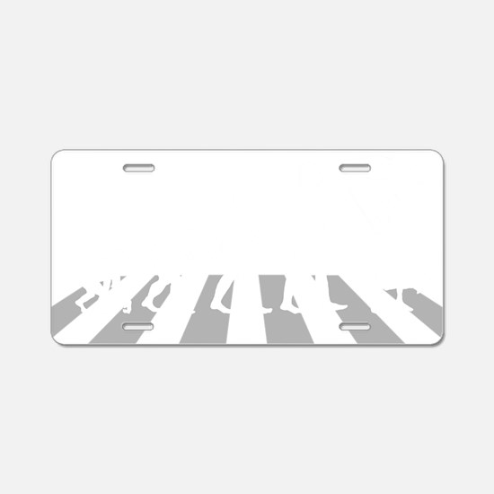 Evolution-Woman-05-b Aluminum License Plate