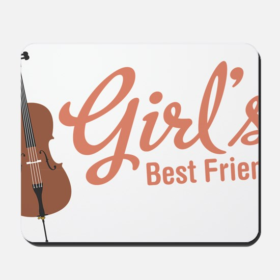 Girls-Best-Friend Mousepad