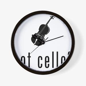 CELLO 01 Wall Clock