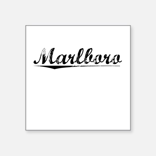 Marlboro gifts merchandise marlboro gift ideas apparel marlboro vintage square sticker 3 negle Images