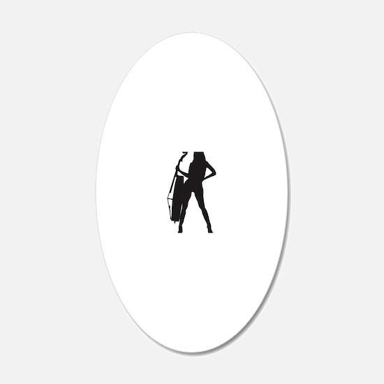 Cello-Player-04-a Wall Decal