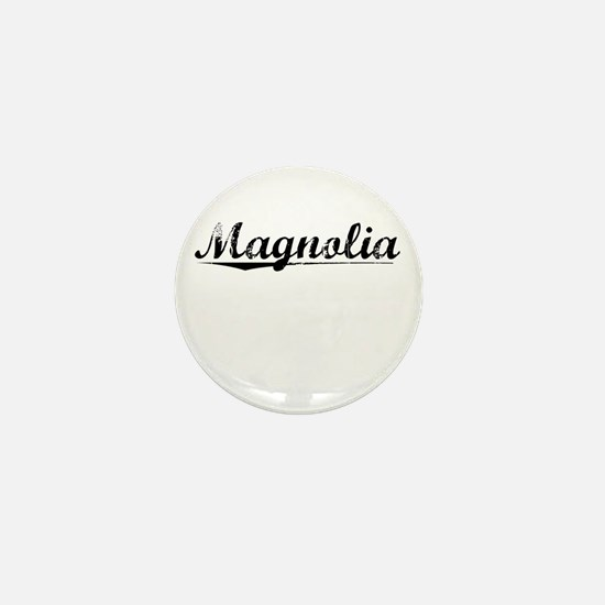 Magnolia, Vintage Mini Button