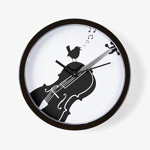 Songbird-01-a Wall Clock