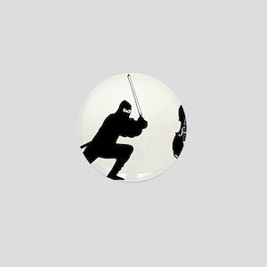 Cello-Ninja-01-a Mini Button