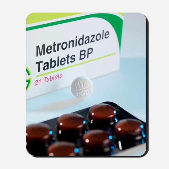 Metronidazole antibiotic pills Mousepad
