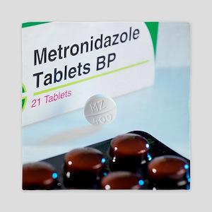 Metronidazole antibiotic pills Queen Duvet