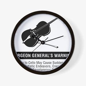 Surgeon-Generals-Warning-01-a Wall Clock
