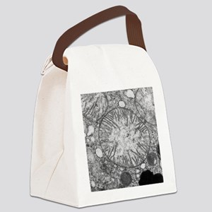 Mitochondria in cross section Canvas Lunch Bag