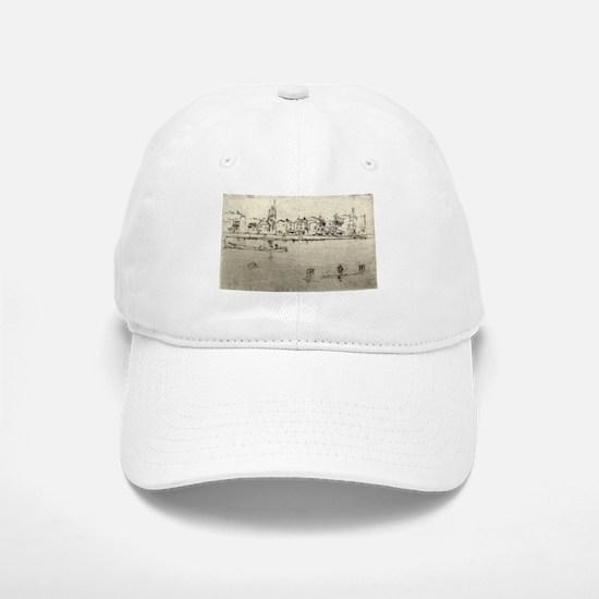Chelsea Memorial - Whistler - c1890 Baseball Baseball Baseball Cap