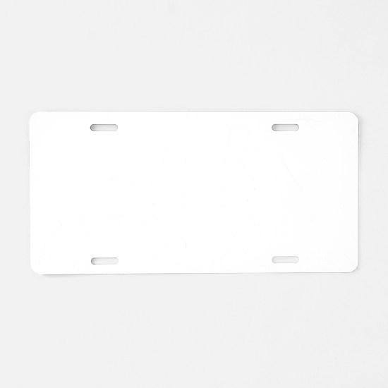 Evolution-Woman-01-b Aluminum License Plate