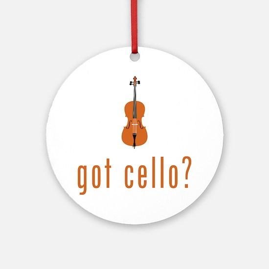 Got-Cello-07-a Round Ornament