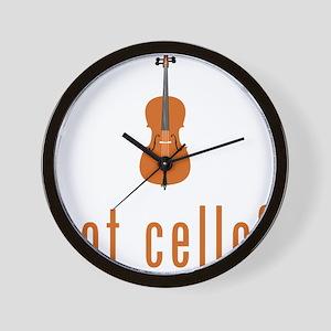 Got-Cello-07-a Wall Clock