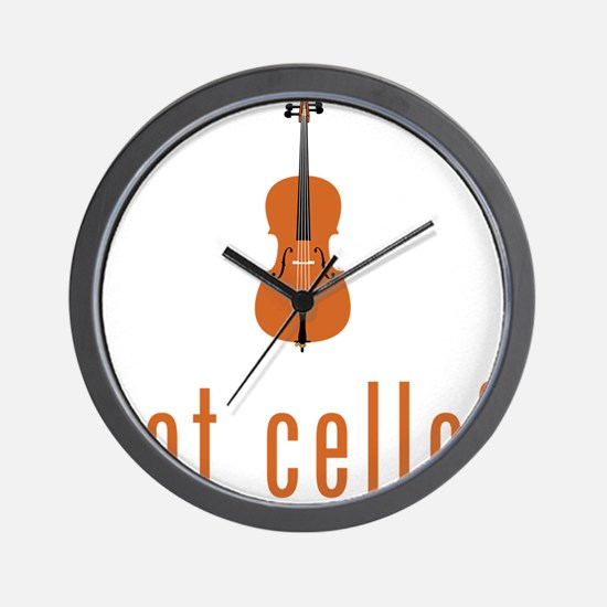 Got-Cello-07-a Wall Clock