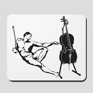 Cello-Player-x-01-a Mousepad