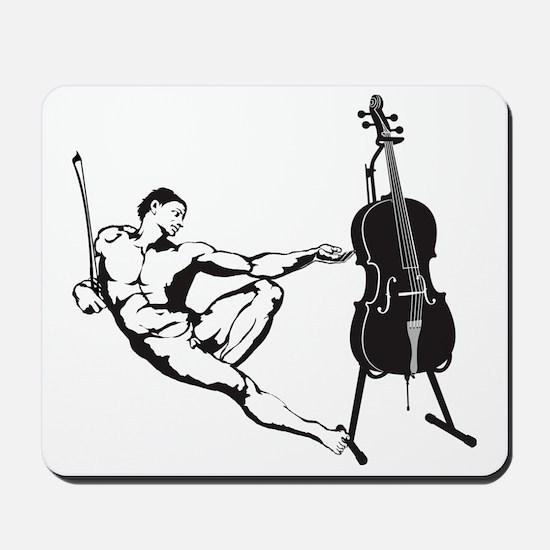 Cello-Player-x-01-a Mousepad