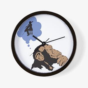 Chimp-01 Wall Clock