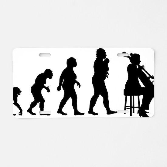 Evolution-Woman-04-a Aluminum License Plate