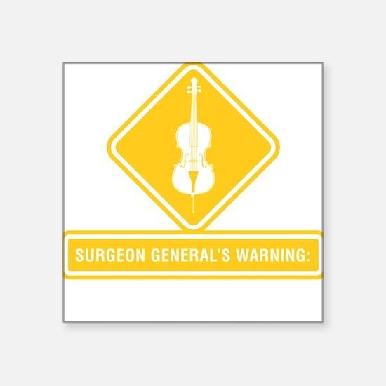 "Surgeon-General-02-b Square Sticker 3"" x 3"""