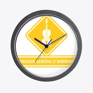 Surgeon-General-02-b Wall Clock