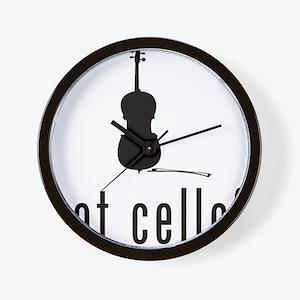Got-Cello-03-a Wall Clock