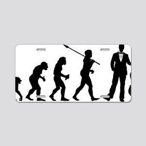 Evolution-Man-03-a Aluminum License Plate