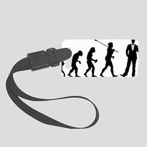 Evolution-Man-03-a Small Luggage Tag