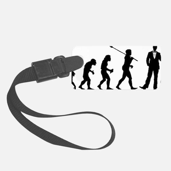 Evolution-Man-03-a Luggage Tag