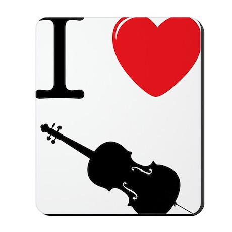 I-Heart-Cello-03-a Mousepad