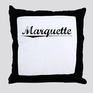 Marquette, Vintage Throw Pillow