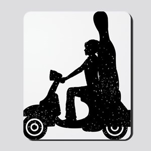 Rider-Carrying-Cello-01-a Mousepad