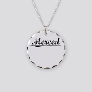 Merced, Vintage Necklace Circle Charm