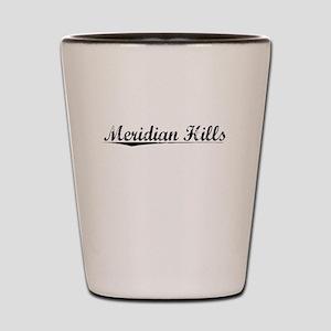 Meridian Hills, Vintage Shot Glass
