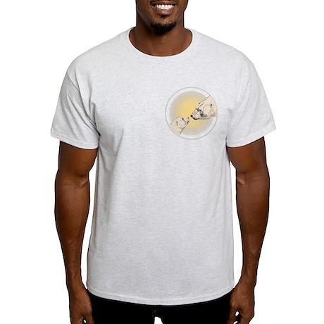 Polar Bear & Cub Light T-Shirt