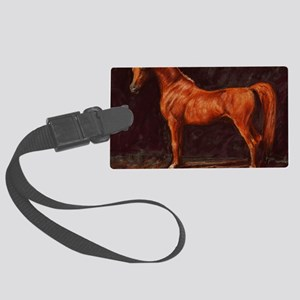 Arabian Stallion Large Luggage Tag