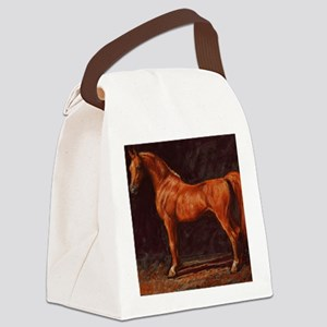 Arabian Stallion Canvas Lunch Bag