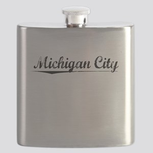 Michigan City, Vintage Flask