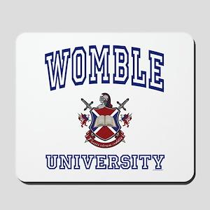WOMBLE University Mousepad