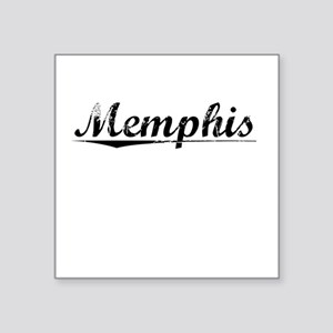 """Memphis, Vintage Square Sticker 3"""" x 3"""""""