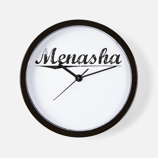 Menasha, Vintage Wall Clock