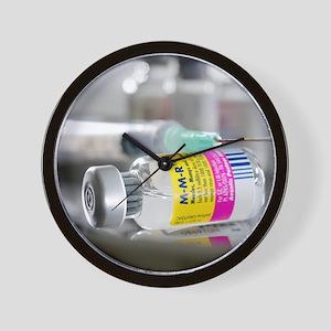 MMR vaccine Wall Clock