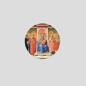 Annalena Altarpiece - Fra Angelico Mini Button