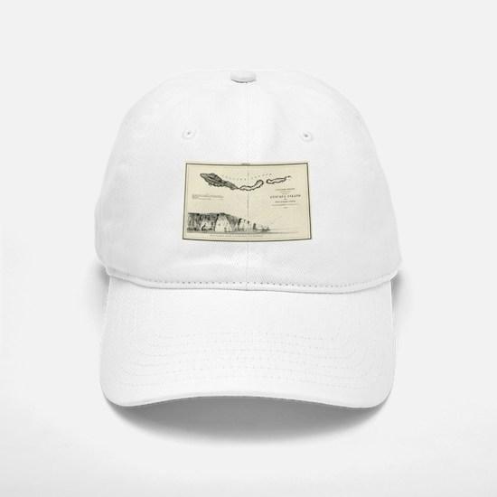 Anacapa Island - T H Stevens- 1854 Baseball Baseball Baseball Cap