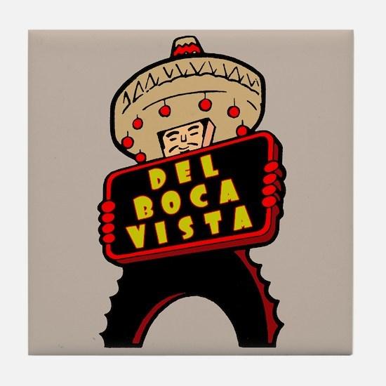 """""""Del Boca Vista"""" Tile Coaster"""